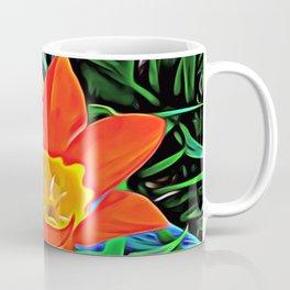 Flower of Enchanted Orange Flow Coffee Mug