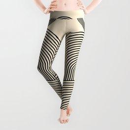 Abstraction_EYE_POP_ART_LINE_Minimalism_029AA Leggings