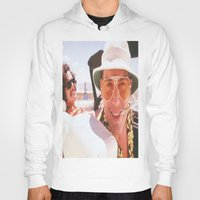 fear and loathing Hoodies featuring Fear and Loathing Wherever. by Revolutionthrulife