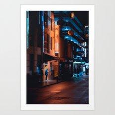 Chinatown, Melbourne Art Print