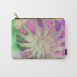 NAUTILUS SEA SHELL IMPRESSION Carry-All Pouch