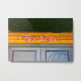 The Den Metal Print
