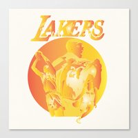 lakers Canvas Prints featuring Lakers by Istvan Antal
