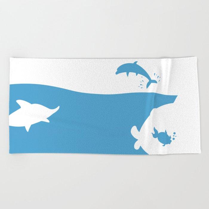 Save the world Beach Towel