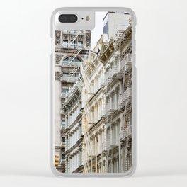 Endless Escape Clear iPhone Case