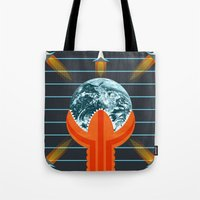 dune Tote Bags featuring Dune by milanova