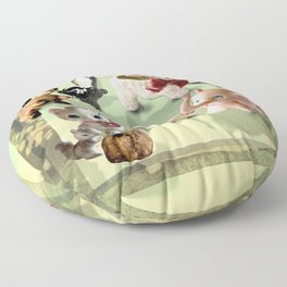 Whimsical Squad Floor Pillow