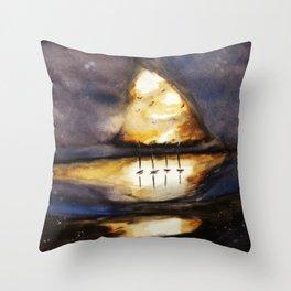 Bright Dark Throw Pillow