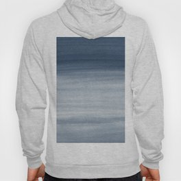 Touching Navy Blue Watercolor Abstract #1 #painting #decor #art #society6 Hoody