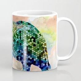 Design 37 Mosaic Elephant Coffee Mug