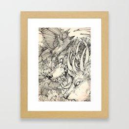 Chaos Divine  Framed Art Print
