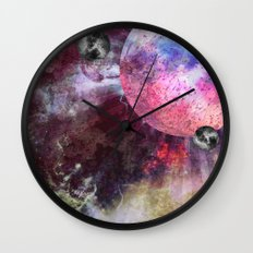 Lunar Strain Wall Clock