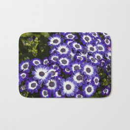Cineraria Purple Bath Mat