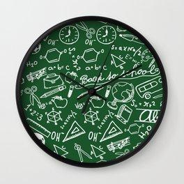 School teacher #8 Wall Clock