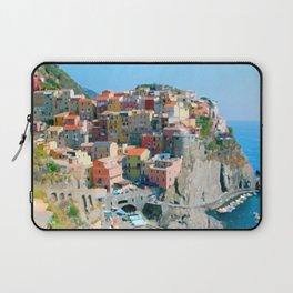 Italy. Cinque Terre - Cliffside Laptop Sleeve