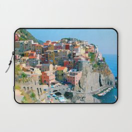Italy. Cinque Terre - Cliffside Laptop Sleeve