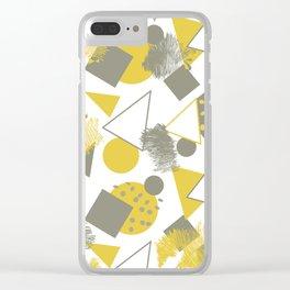 CREATIVE MODERN PATTERN Clear iPhone Case