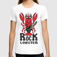 lobster T-shirts featuring ROCK LOBSTER by Art of Michael J. Cincotta
