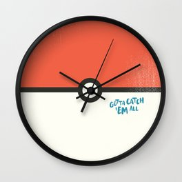 Pokemonz Wall Clock