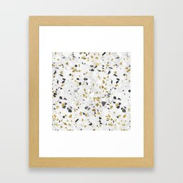 Glitter and Grit Framed Art Print