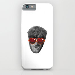 Wolf Man Only Has Eyes For You iPhone Case