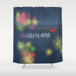 Denim Jeans - Libre De Créer Shower Curtain
