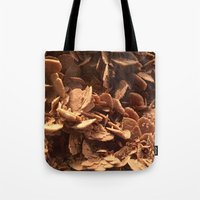 oklahoma Tote Bags featuring Oklahoma Gypsum  by UMe Images