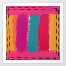 Vertical Stripes Art Print