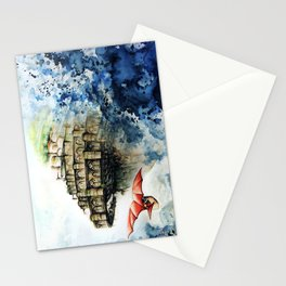 """The castle in the sky"" Stationery Cards"