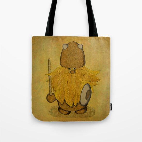 Hirsute Viking Homunculus Tote Bag