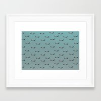 planes Framed Art Prints featuring Planes by Oscar Lagunah