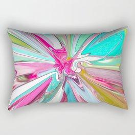 234 - Abstract flower design Rectangular Pillow
