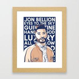 jon bellion luxury tour 2019 simukasama Framed Art Print