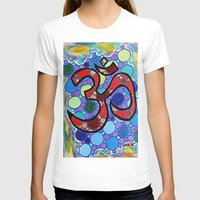om T-shirts featuring OM by Art By Carob