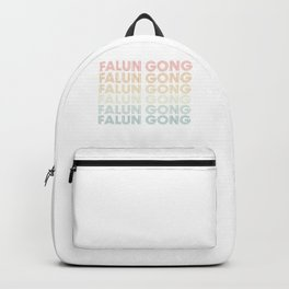 Falun Gong Retro Style Backpack