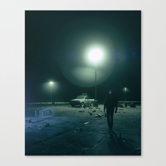 NOISE CANCELING (everyday 10.11.17) Canvas Print