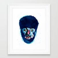 werewolf Framed Art Prints featuring werewolf by Alvaro Tapia Hidalgo