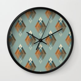 Les 7 sommets Wall Clock