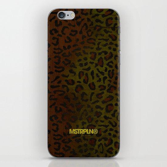 Modern Woodgrain Camouflage / Zaire KDP Print iPhone & iPod Skin
