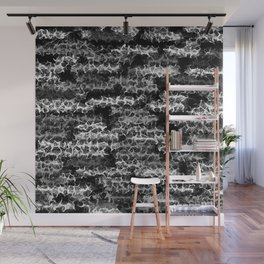 Spidery Lines Inverse Wall Mural
