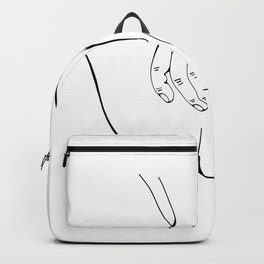 Touching you softly Backpack