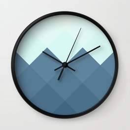 Where the Ocean Meets the Sky Wall Clock