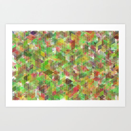 Panelscape - #6 society6 custom generation Art Print