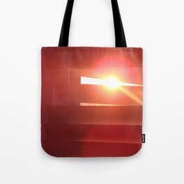 Stalking the sunset Tote Bag