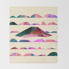 Mount Fuji Throw Blanket
