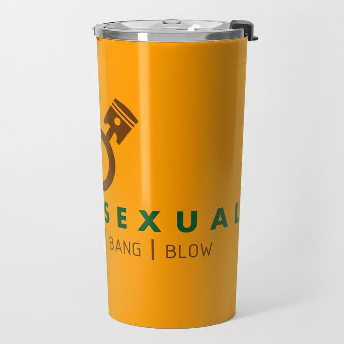 PETROLSEXUAL v7 HQvector Travel Mug