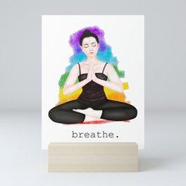 breathe in colors 2 Mini Art Print