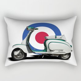 Mod scooter Rectangular Pillow