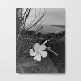 Como la flor Metal Print