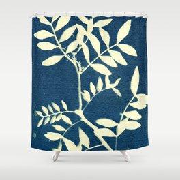 Botanicus (5), Botanical Art Print, Art Print, Botanical Poster, Vintage Print Shower Curtain